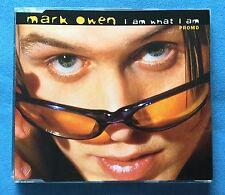 MARK OWEN - 'I AM WHAT I AM' 4 TRACK PROMO CD SINGLE - PROMO M02 - 1997