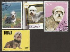 Dandie Dinmont Terrier * Int'l Dog Postage Stamp Art Collection*Great Gift Idea