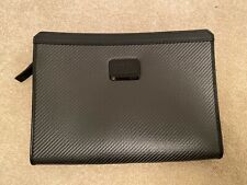 Tumi CFX Carbon Fibre Sebring iPad Tablet Cover Case 35600CB - New