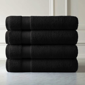 4 x 100% Pure Egyptian Combed Cotton Extra Soft Bath Towel Hotel Quality 700 GSM