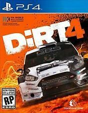 Dirt 4 (Sony PlayStation 4, 2017) Brand New Factory Sealed