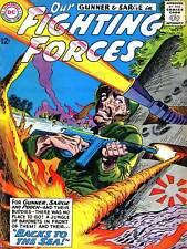 COMIC WAR MILITARY ARMY GUN TANK BATTLE FIGHTING FORCES GUNNER PRINT BB7815