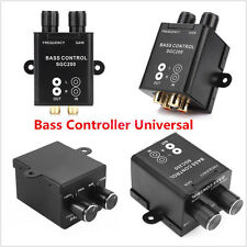 Universal Car Audio Amplifier Bass Boost RCA Level Remote Volume Control Knob