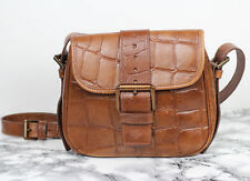 MULBERRY Classic Tan Brown Congo Leather Saddle Satchel Shoulder Bag