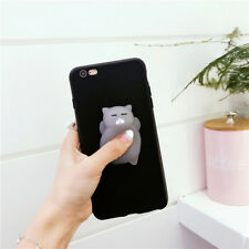 For iphone7 3D Kawaii Silicone Cat Kneading Phone Case Cover For iPhoneX 8/8Plus