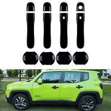Car Exterior Door Handle Cover Bowl Trim For 2015-2018 Jeep Renegade Accessories