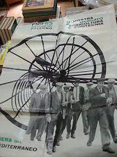 "manifesto ""2° MOSTRA MERCATO AGRICOLTURA ZOOTECNIA - PALERMO OTTOBRE 1965"""