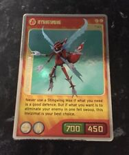 INVIZIMALS STINGWING SPECIAL EDITION CARD X01