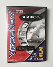 VideoNow Discovery Channel: Shark Week 3-Disc Pack-Pvd Set-2003-3 Full Episodes!