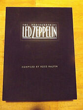 The Photographers Led Zeppelin Book And Case-Compiled By Ross Halfin-1st Ed.1995