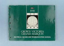 Elec/Vac/Troubleshooting, '98 Crown Victoria/Mercury Grand Marquis, FCS-12118-98