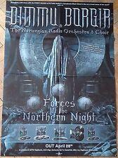 DIMMU BORGIR Forces POSTER !!! Emperor/Satyricon/Behemoth/Amon Amarth/Opeth !!!