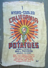 10 Qty Burlap Potato Sack/Bag Rat Rod, Sack Race, Feed, Farm Sign