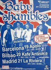 BABY SHAMBLES 2007 SPAINISH TOUR POSTER - Pete Doherty, The Libertines