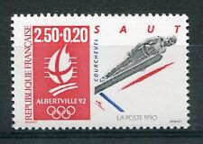 STAMP / TIMBRE FRANCE NEUF N° 2738 ** JEUX OLYMPIQUE ALBERVILLE 1992 SAUT A SKI