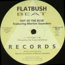 OUT OF THE BLUE - It's You / Wishing On A Star - Flatbush - FBR 9003 - Usa