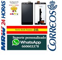 Pantalla Completa  BQ Aquaris E5 HD Negra Tactil + LCD Negro TFT5K0858FPC-A1