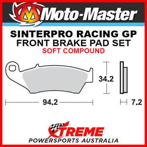 Moto-Master Aprilia MXV450 2009 Racing GP Sintered Soft Front Brake Pad 093412