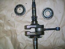 1986 Honda TRX 250 Fourtrax crank crankshaft with main bearings TRX250