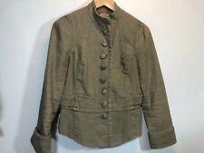 Free People Blazer 6 Military Green Jacket