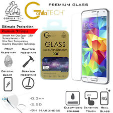 New Galaxy Note 4 Genuine Gorilla Tech Brand Screen Protector Tempered Glass Top