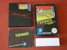 TENNIS / PAL - SPAIN / CIB - COMPLETE / NINTENDO NES 520