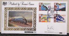 1988 Benham Silk MALLARD Railway Train Signed First Day Cover - Unknown Person