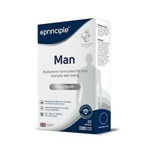 Principle Man | Mens Multivitamin 30 Tablets | One a day | Made in the UK