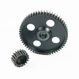 Steel 55T Spur Gear 19T Pinion Gear for HPI Baja 5B 5T 5SC