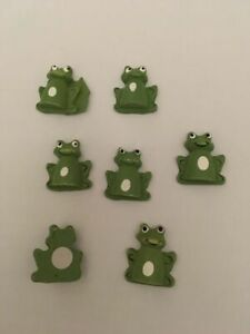Craft for ocassions mini wooden frogs children's theme card craft gift tags