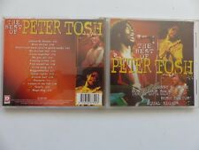 The best of PETER TOSH   DC 867392 CD ALBUM