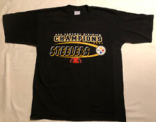 Pittsburgh Steelers AFC Central Division Champions 2001 Shirt Size XL