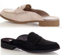 Dr Scholls Tailored Mules Shoes Clogs Slides Black Beige Women 6 7 8 9 10 NEW