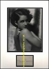 Norma Shearer The Divorcee Let Us Be Gay The Women   Autograph UACC RD96