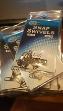 NuFish snap swivels - size 10 (3 packs new other cov)