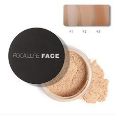 Focallure 3 couleurs poudre libre maquillage imperméable nouilles bonne qualitéH