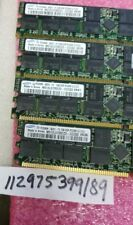 8GB KIT 4X 2GB PC DDR DDR1 PC3200R DDR-400 3200 400 184PIN ECC-REG RDIMM  128X4