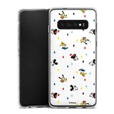 Samsung Galaxy S10 Plus Silikon Hülle Case - Disney Carnival Pattern