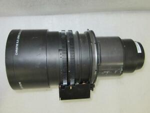 Christie 118-100114-01 HD Projection ILS 2.6-4.1:1/2.8-4.5:1 Zoom Lens