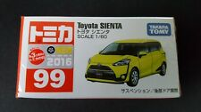 TOMICA #99 TOYOTA SIENTA 1/60 SCALE NEW IN BOX