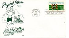 US FDC #2043 Physical Fitness, Gamm (6629)