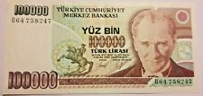TURQUIE 100000 Lire 1970 Türk Lirasi YIRMI BIN
