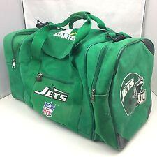Vintage 90s Starter NY JETS Duffle Gym Bag Kelly Green NFL New York Retro Travel