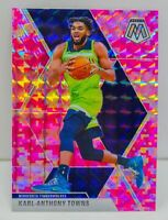 Karl Anthony Towns 2019-20 CAMO PINK MOSAIC PRIZM Card#83 Minnesota Timberwolves