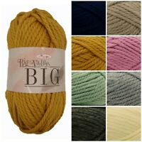 King Cole Big Value BIG Super Chunky Premium Acrylic Knitting Yarn 250g