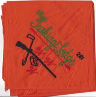 OA Lodge # 261 Taskiagi---Merged 1994 N-2A Org & Grn & Blk Neckerchief