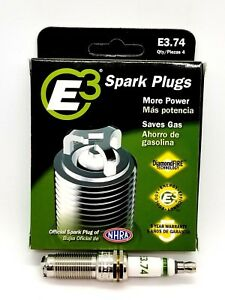 E3.74 E3 Premium Automotive Spark Plugs - 4 SPARK PLUGS