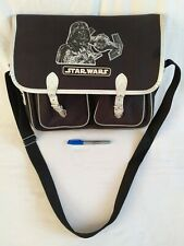 Vintage Star Wars Shoulder School Bag Satchel Vader Tie Fighter 1997 *VGC*