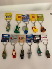 Lot of 11 LEGO keychains Star Wars toy story spongebob Atlantis classic
