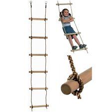 Strickleiter Kletterleiter Leiter 6 Sprossen Seilleiter Sprossenleiter 2,00 m
